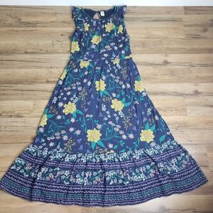 Floral Maxi Dress Old Navy Size S